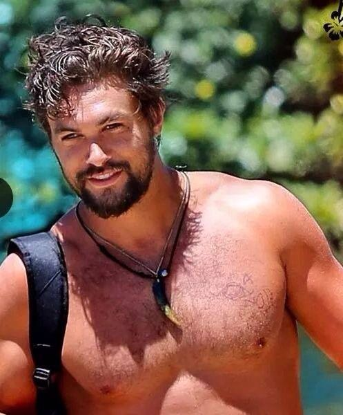 Interesting face - Jason Momoa