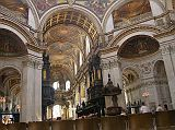 St. Pauls Cathedral London, The Quire and Ceiling