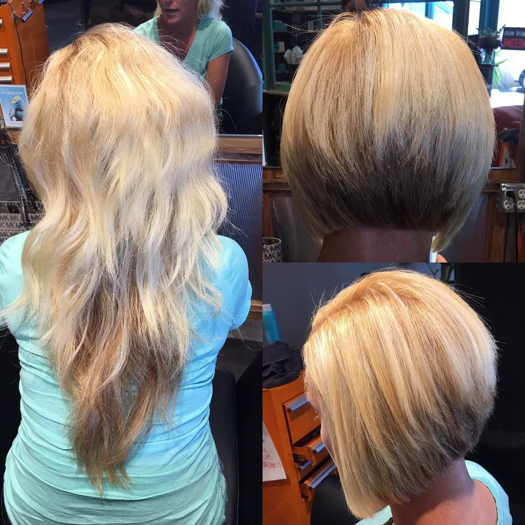 As if being pregnant during a Louisiana summer isn't bad enough, having long thick hair will make ya go crazy. This mama decided to make the chop into an inverted bob for the spring & upcoming summer! #tlgbeautylounge