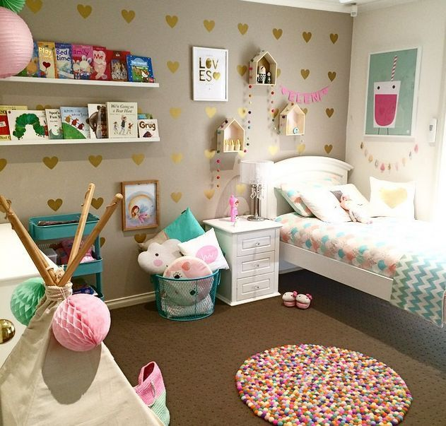 20 whimsical toddler bedrooms for little girls | bedrooms