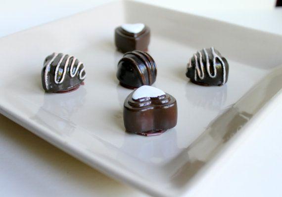 Chocolate shaped lipbalm flavoured Chocolate by HancoxHomestead, $3.50