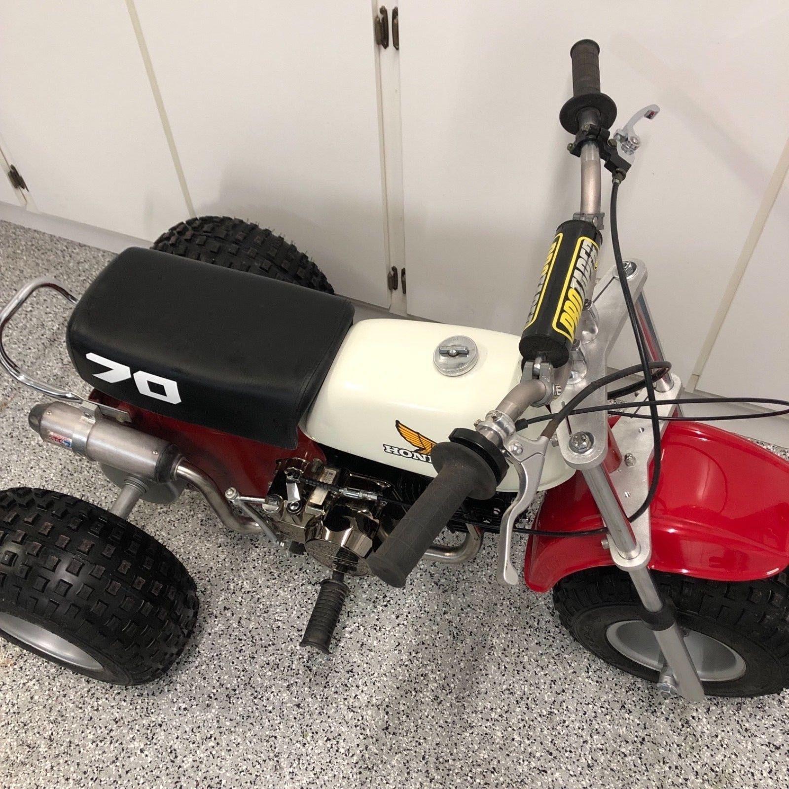 Honda ATC 70 ATV Three Wheeler Trike 140 Lifan Motor Front