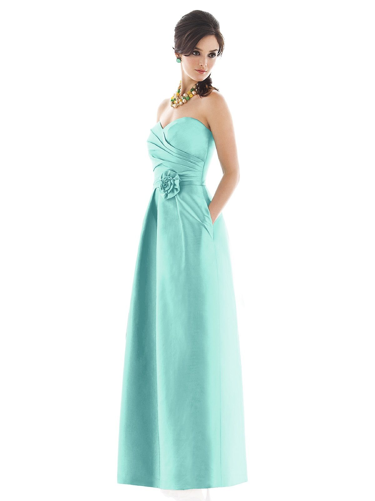 Alfred Sung Style D499 http://www.dessy.com/dresses/bridesmaid/d499 ...