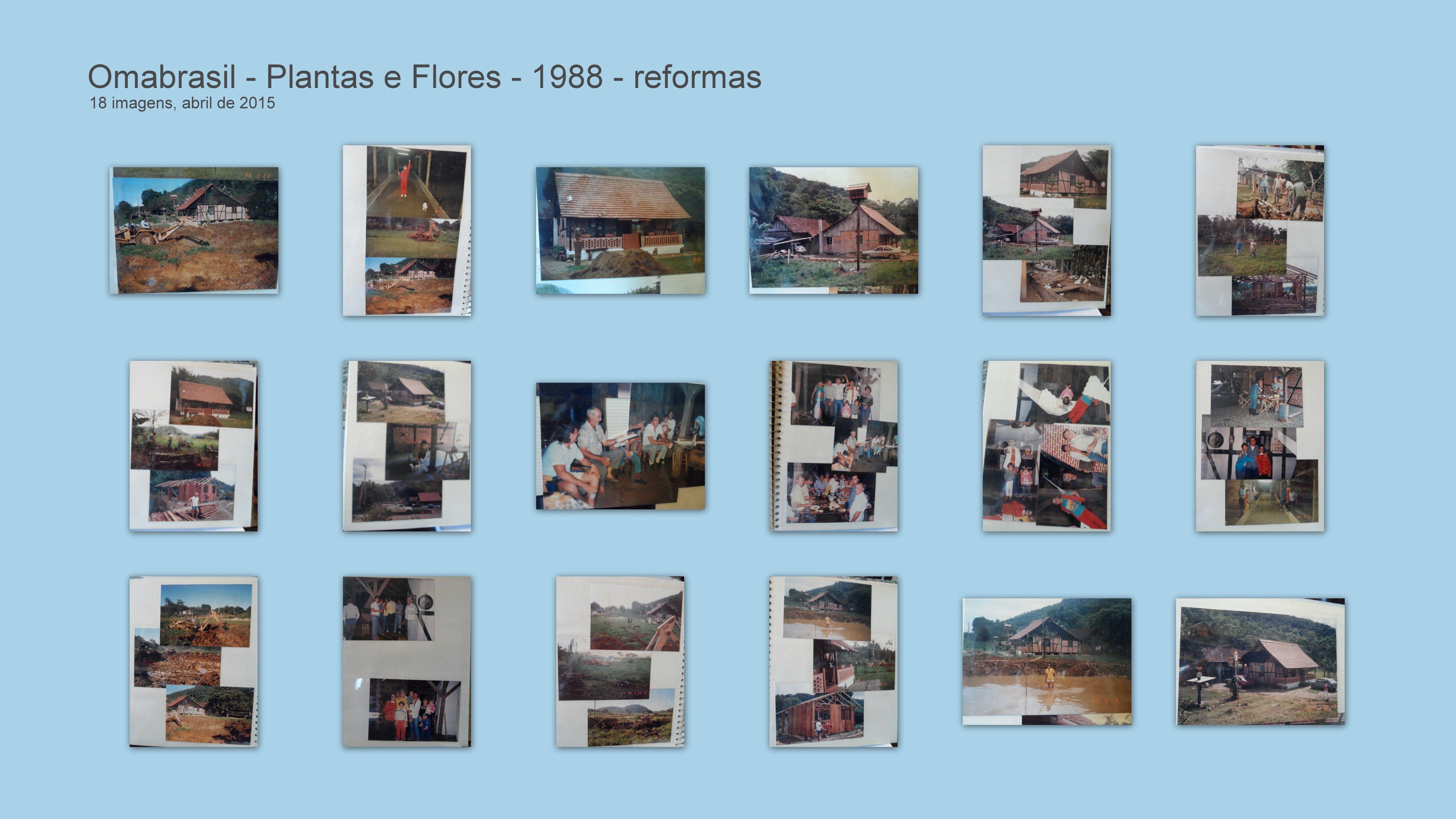 REFORMA INICIAL DA CASA ENXAIMEL - 1988 - Joinville - SC - BRASIL