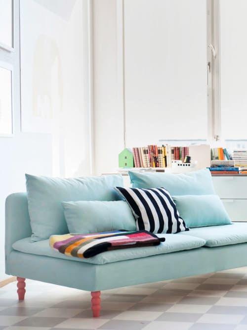 Wir Wissen Wie Ihr Euer Ikea Sofa Ganz Easy Noch Hubscher Pimpt Ikea Sofas Sofa Neu Beziehen Ikea