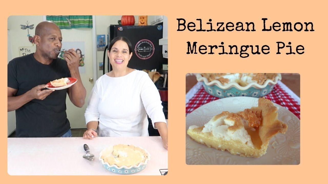 How To Make Belizean Lemon Meringue Pie Shortcrust Pastry Dough Lemon Meringue Pie Meringue Pie Shortcrust Pastry