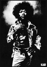 23.5x33 Poster Print Jimi Hendrix