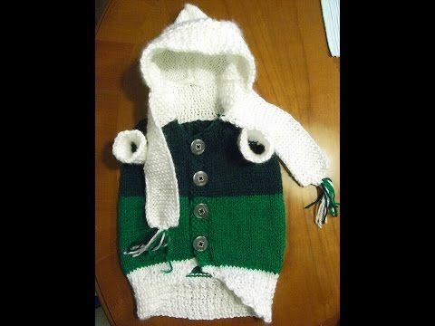 Hunde Mantel Pullover Stricken*Dog Coat*Knitting*Fashion for Dogs ...