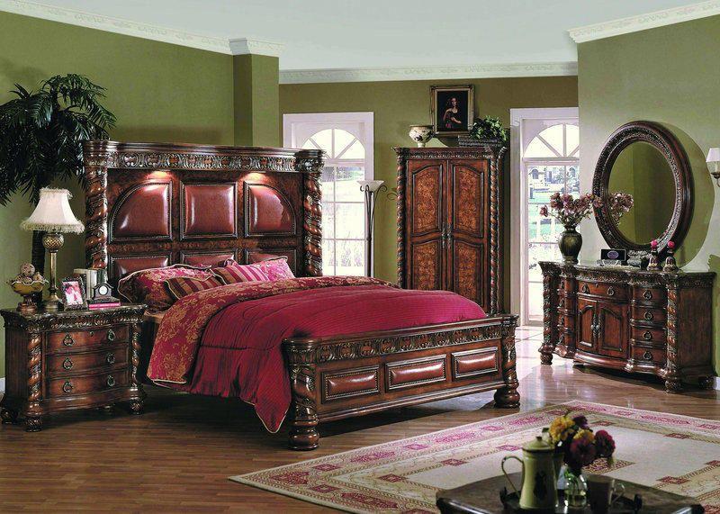 3599 spaniardornatebedroomsuite - Ornate Bedroom Furniture