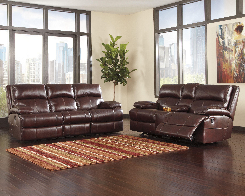 Ashley Sofa Bett Möbel Wohnzimmer Sets Polyester Couch Creme Liegender Loveseat