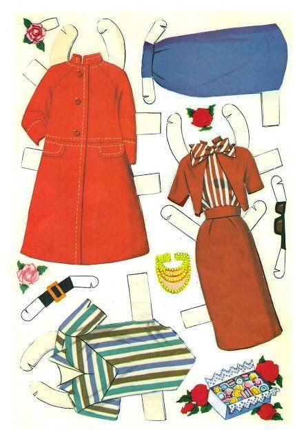 1962 barbie and ken paper doll clothes picasaweb google com