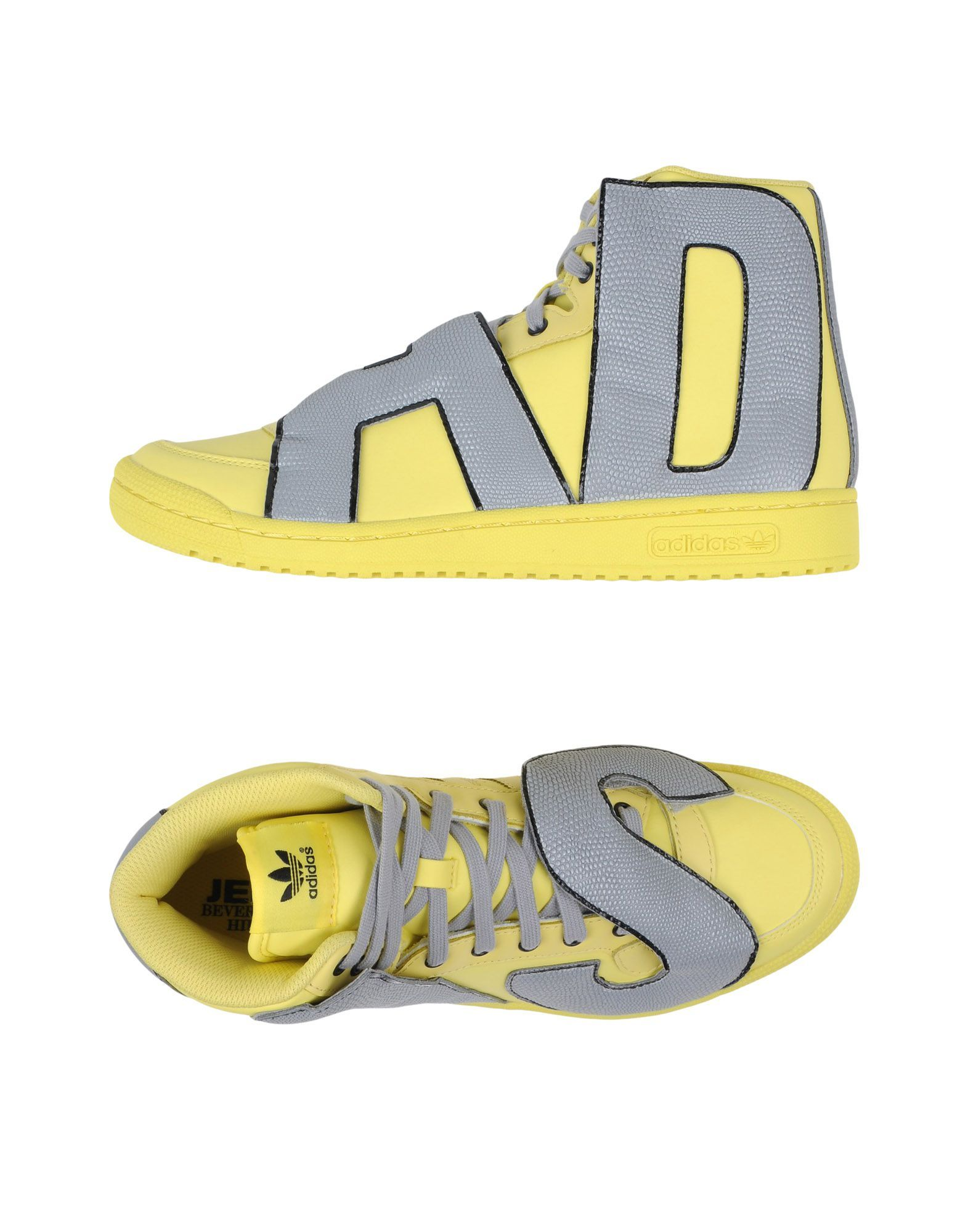 outlet store e83b9 f3580 Adidas Originals By Jeremy Scott Js Letters Refl - High-Tops - Men Adidas  Originals By Jeremy Scott High-Tops online on YOOX United States - 44961181