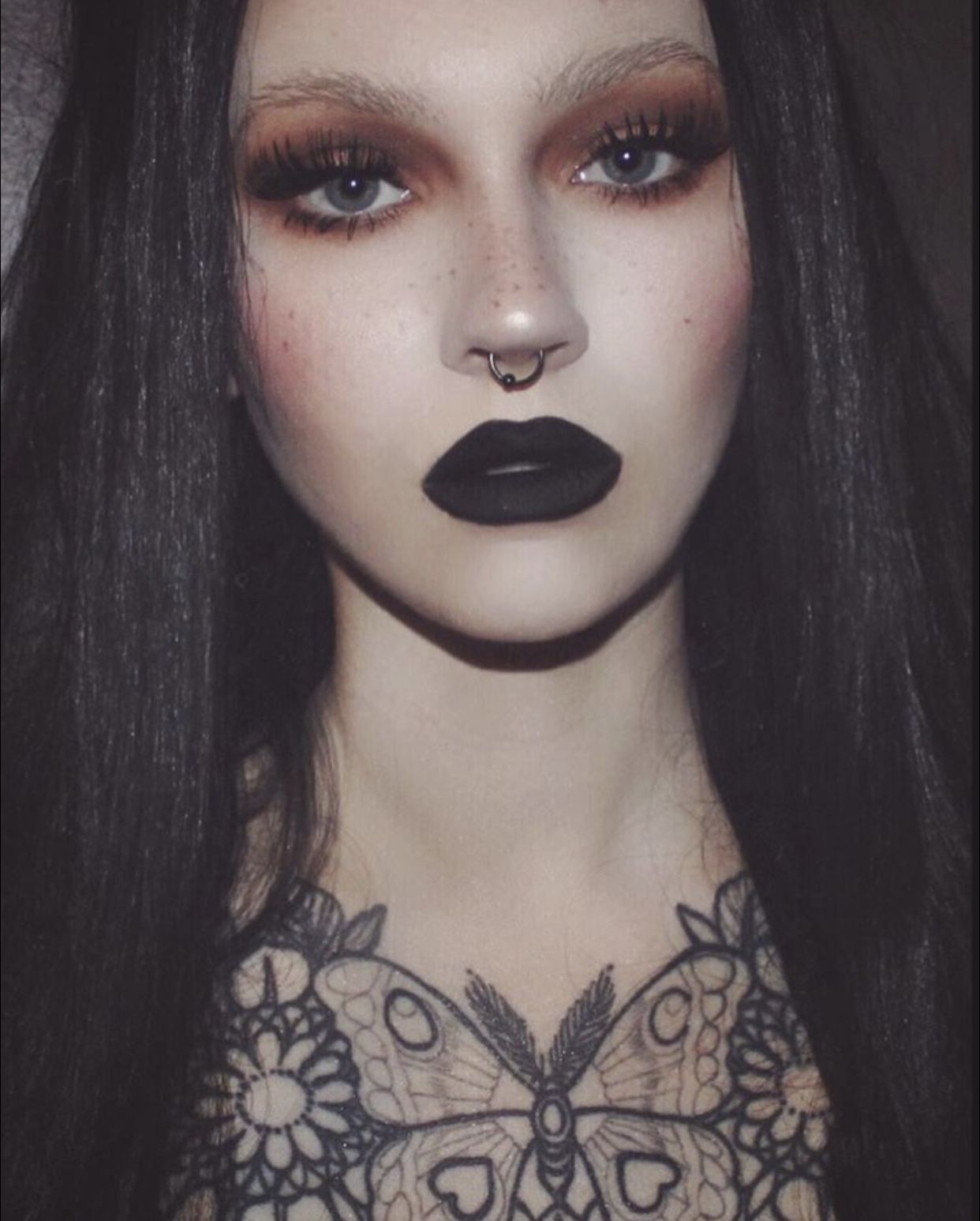 Pin by kimberly brown on Witchy vibez Punk makeup