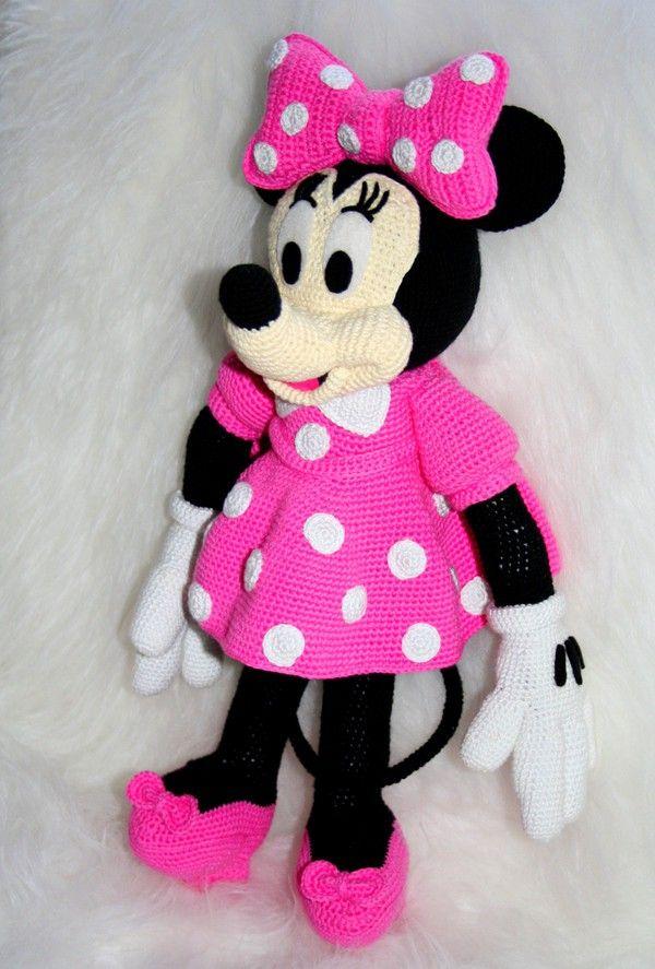 Minnie Anleitungen | Amigurumi | Pinterest | Minnie mouse, Amigurumi ...