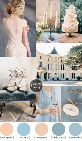 Rustic Glamour Ranch Wedding in shades of white, soft pink, and ...