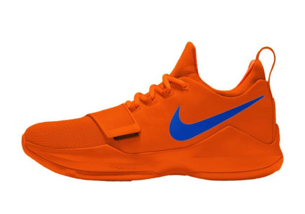 free shipping 09614 f3e05 ... OKC Colors  NIKE PG 1 CREAMSICLE  NIKEiD Releases ...