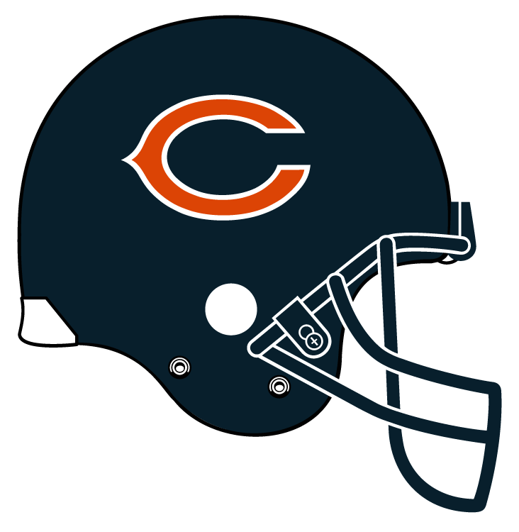 Pin By Clint Reed On Chicago Bears Chicago Bears Helmet