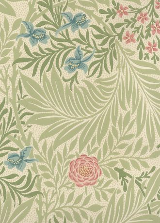 Larkspur Wallpaper from Morris and Co
