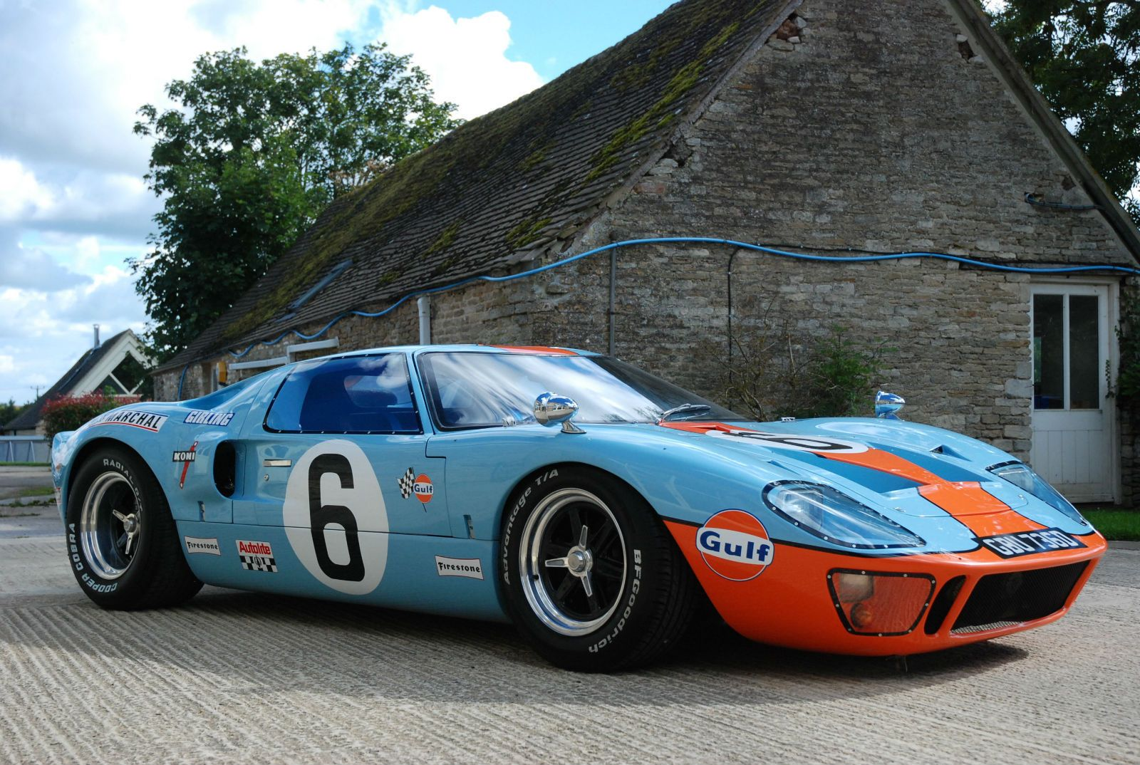 Ford Gt40 Jacky Ickx Gt40 Gulf Colours Sold Ford Gt40 Ford