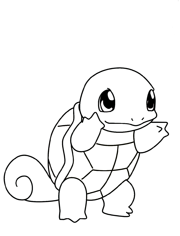 Le Coloring Pages Pokemon