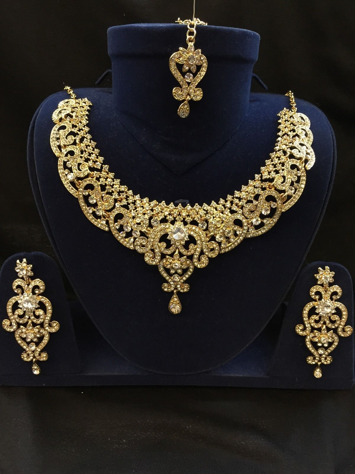 cheap days shop working big necklace bold african jewellery sets jewelry set time uk gold party dispatch fashion in costume plated earring stock