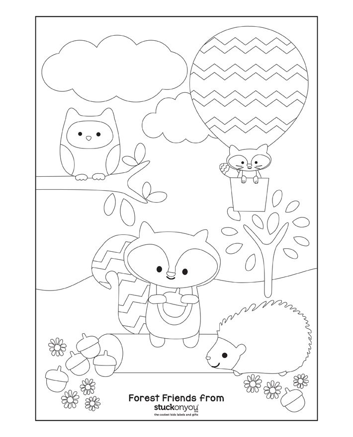 Free Printable Colouring In Pages Animal Coloring Pages