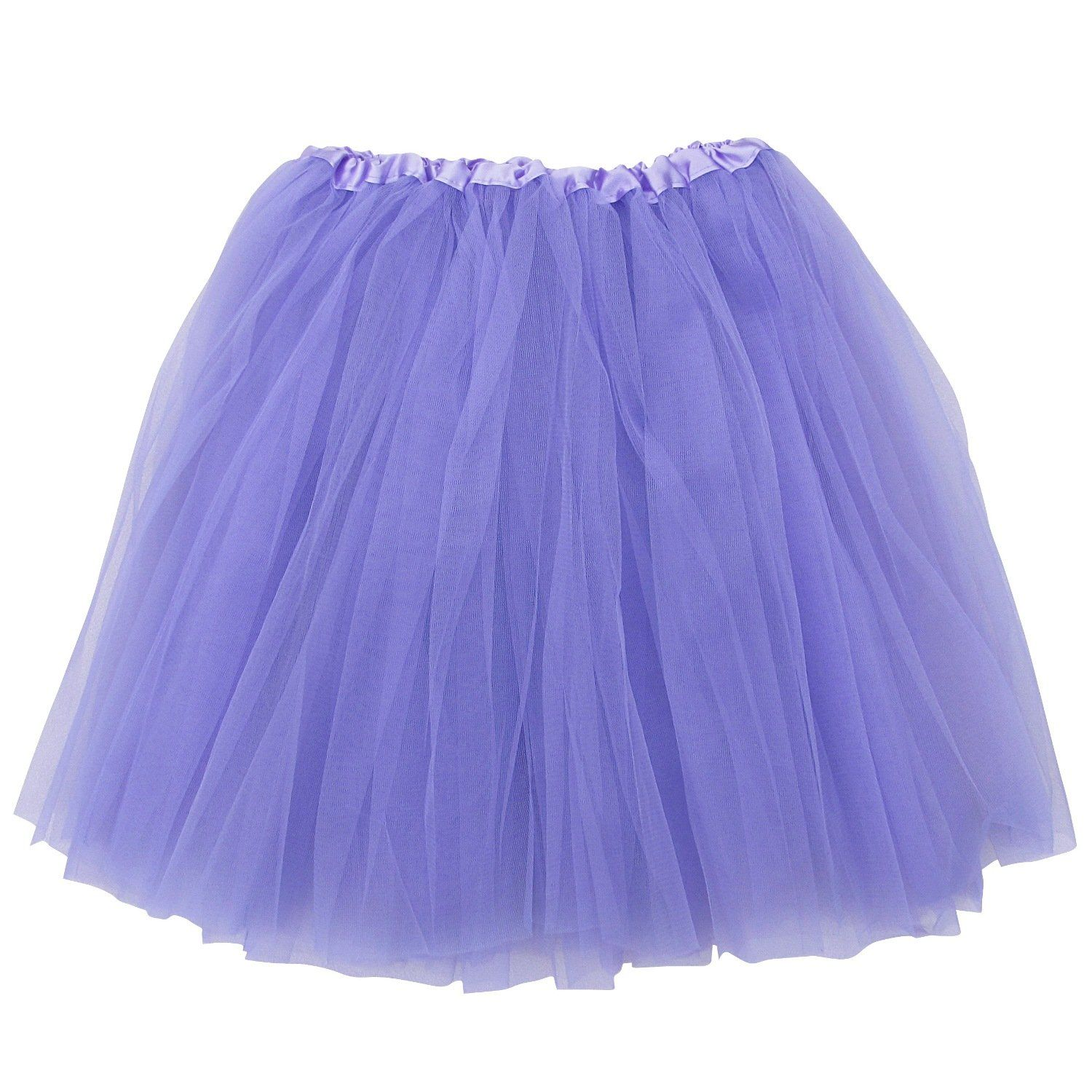 50aa45300 Lavender Plus Size Adult Tutu Skirt - Women's Plus Size 3- Layer ...