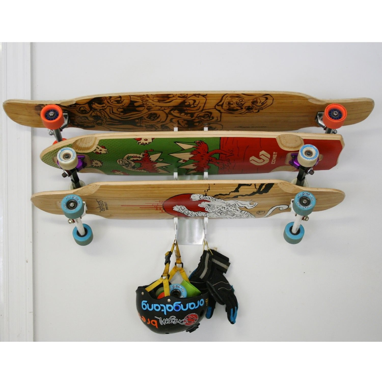 Check Out My Rack Skateboard Longboard
