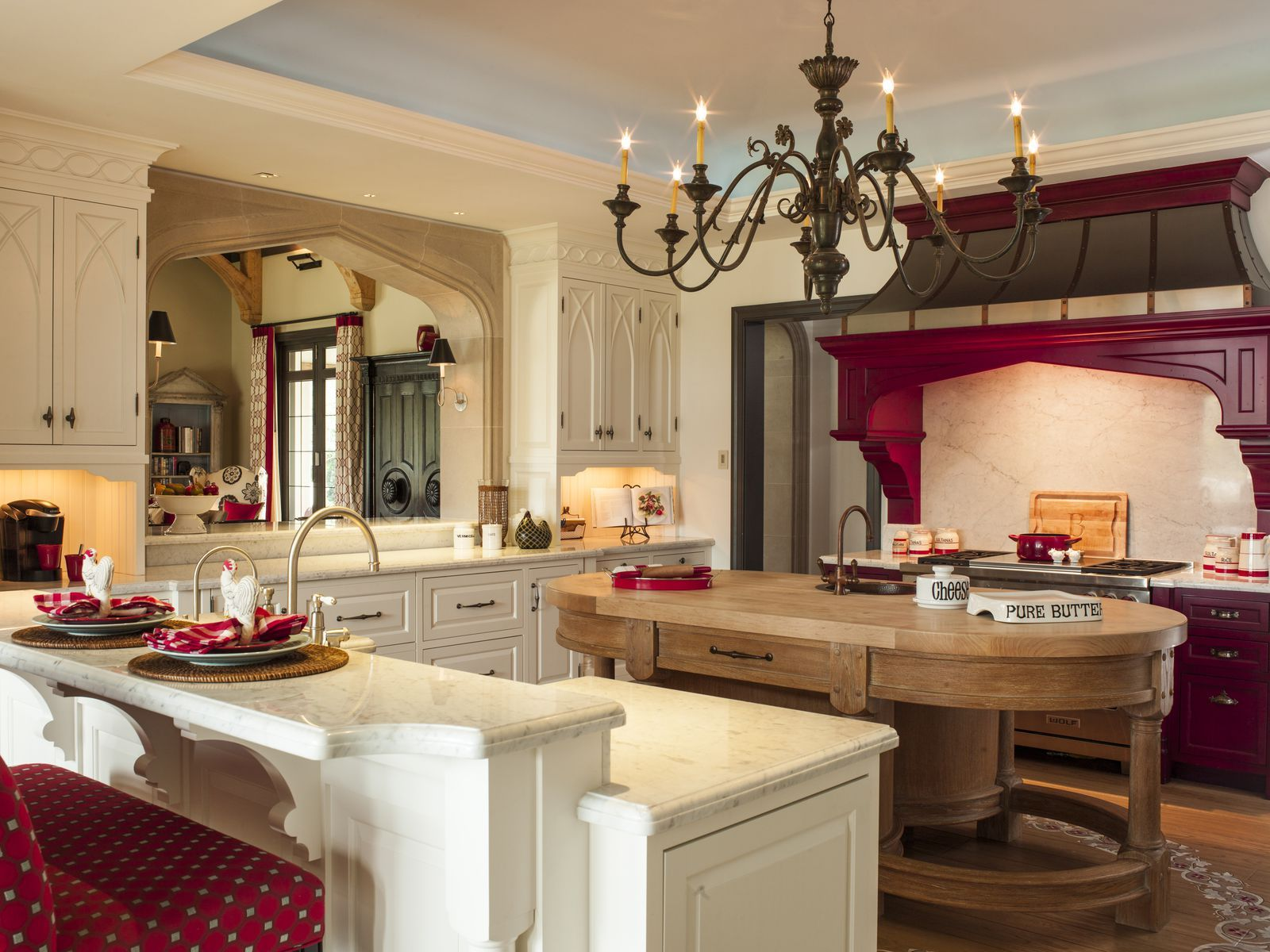 30 Red Kitchens For The Boldest Among Us Kitchen Design