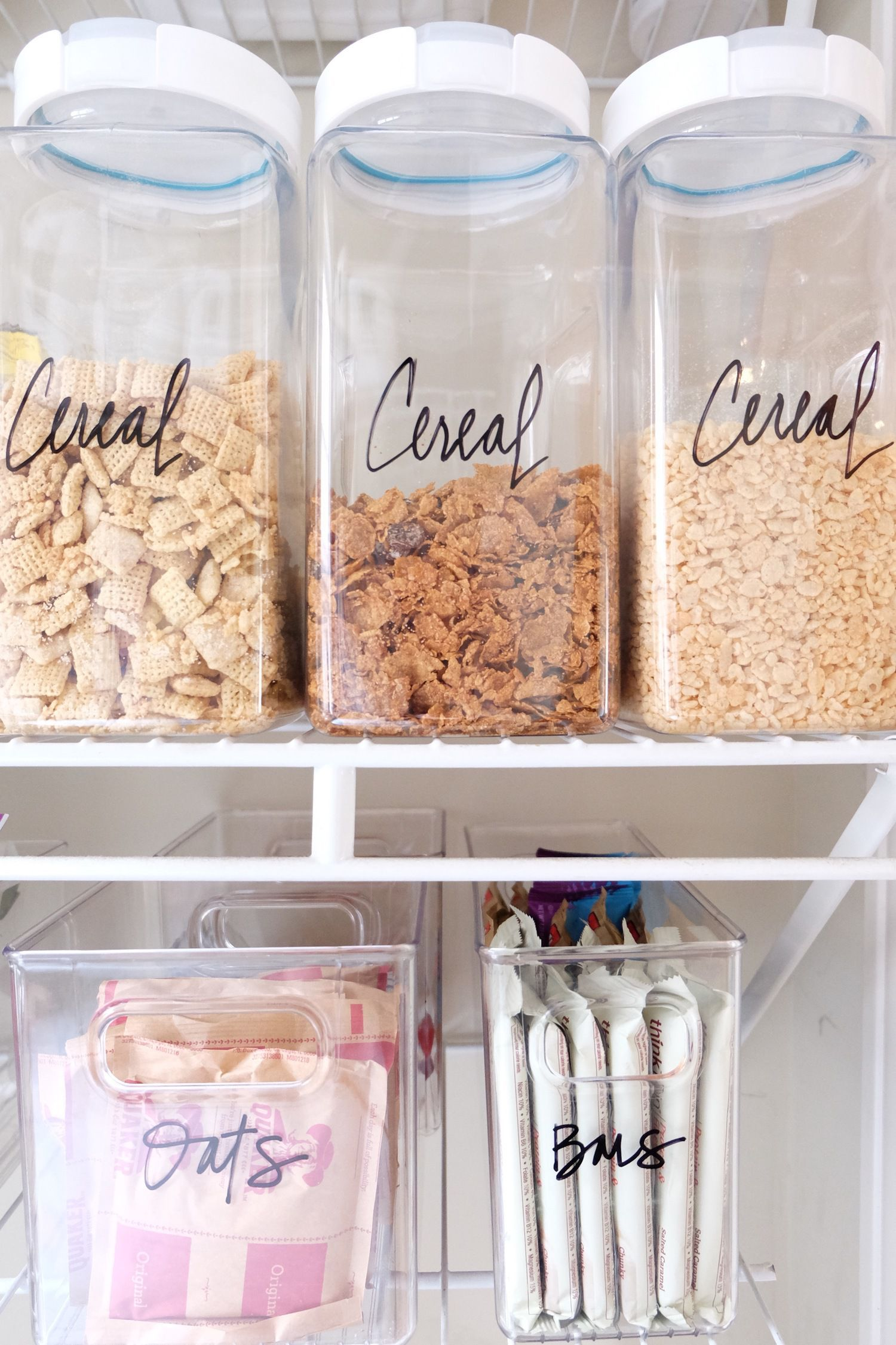10 Tips To Get Your Pantry Organized - Kitchen Pantries,