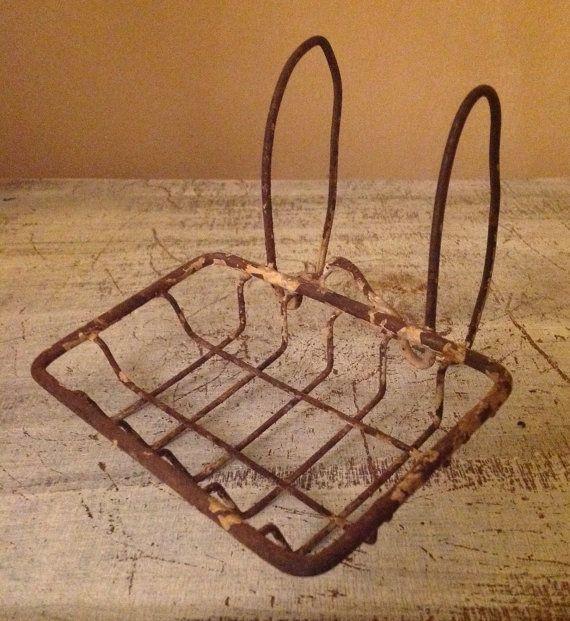 Vintage Claw Foot Bathtub Wire Soap Holder Dish By Porchhound