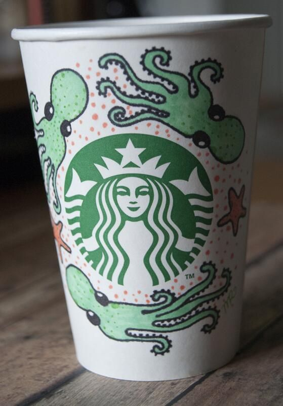 Art by TheInkyOctopus. #WhiteCupContest