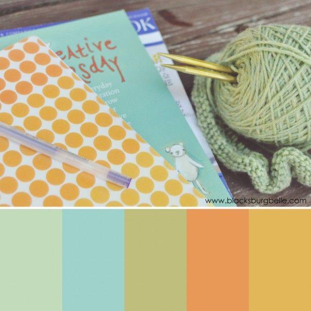 Color Inspiration: Creative Moment