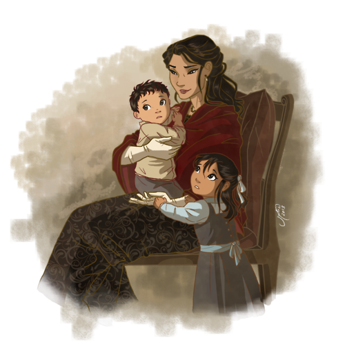 juliajm15: I was wondering these days how Maria Di Angelo would look like, but I didn't find many fanarts of her…
