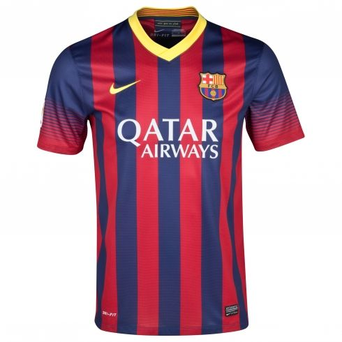 34d5db698 FC Barcelona 2013 2014 jersey. The jersey that both Messi and Neymar will  wear next season  )