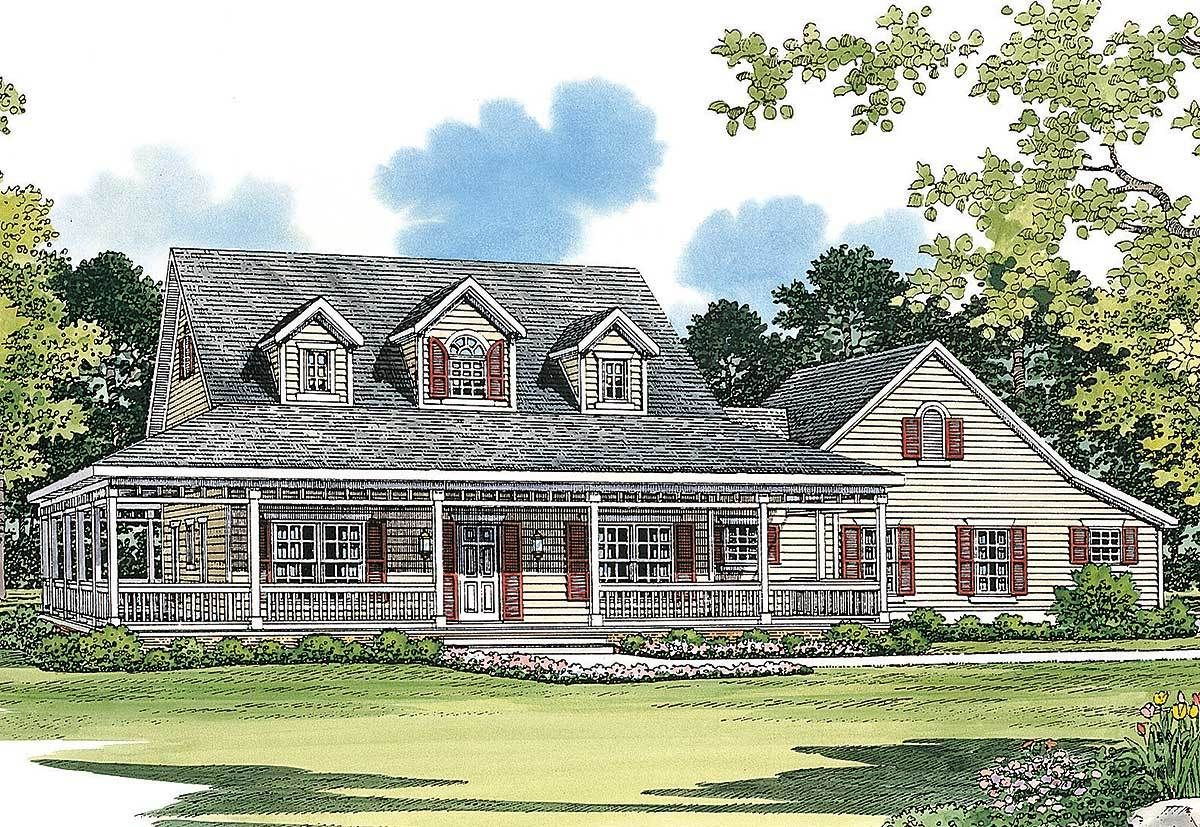 Classic Farmhouse Plan   81331W | Architectural Designs   House Plans