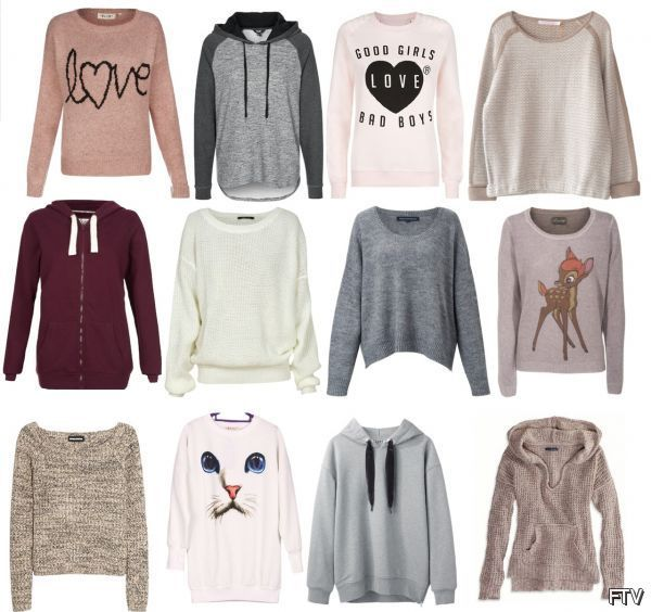 Cute Sweaters \u0026 Hoodies for teen girls of 2016