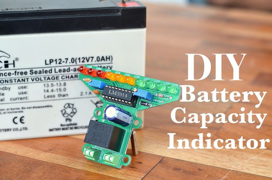 Diy Battery Level Indicator Auto Cutoff For 12v Battery Battery Battery Charger Circuit Automatic Battery Charger