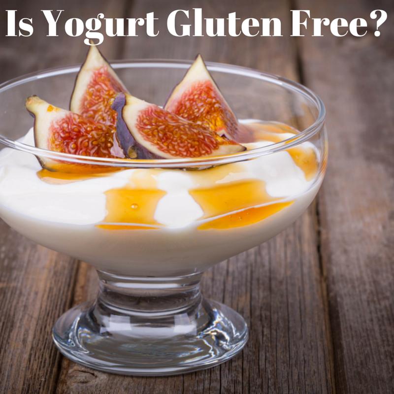 Is Yogurt Gluten Free? | Foods with gluten, Food, Gluten free