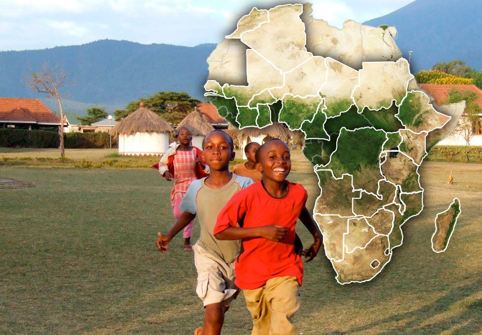 Our Africa Is A Website With A Map Showing Every Country In Africa - Map videos for kids