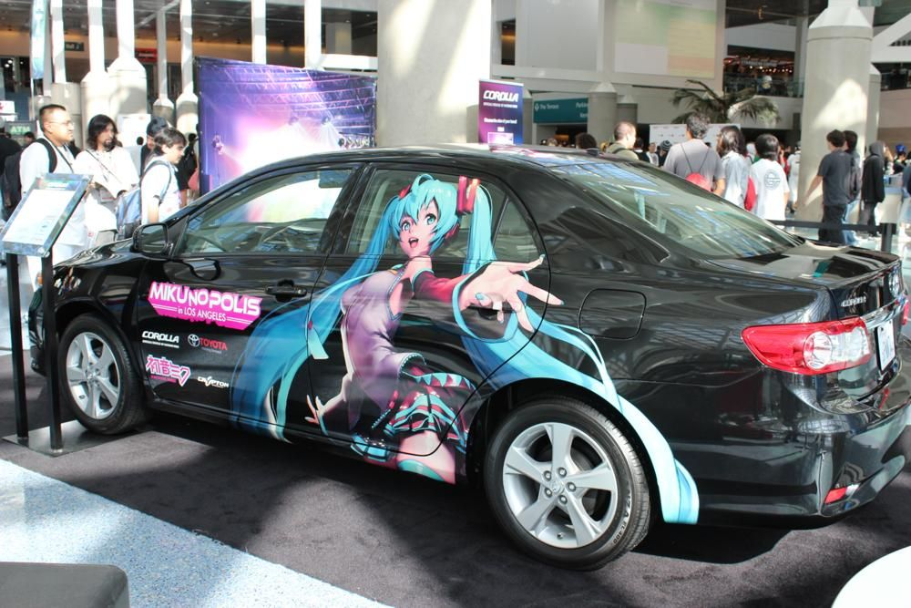Toyota Corolla Campaign | Vocaloid | Anime character names