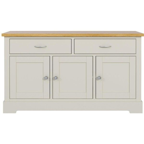 Holsworth Large Sideboard (€175) ❤ liked on Polyvore featuring home ...