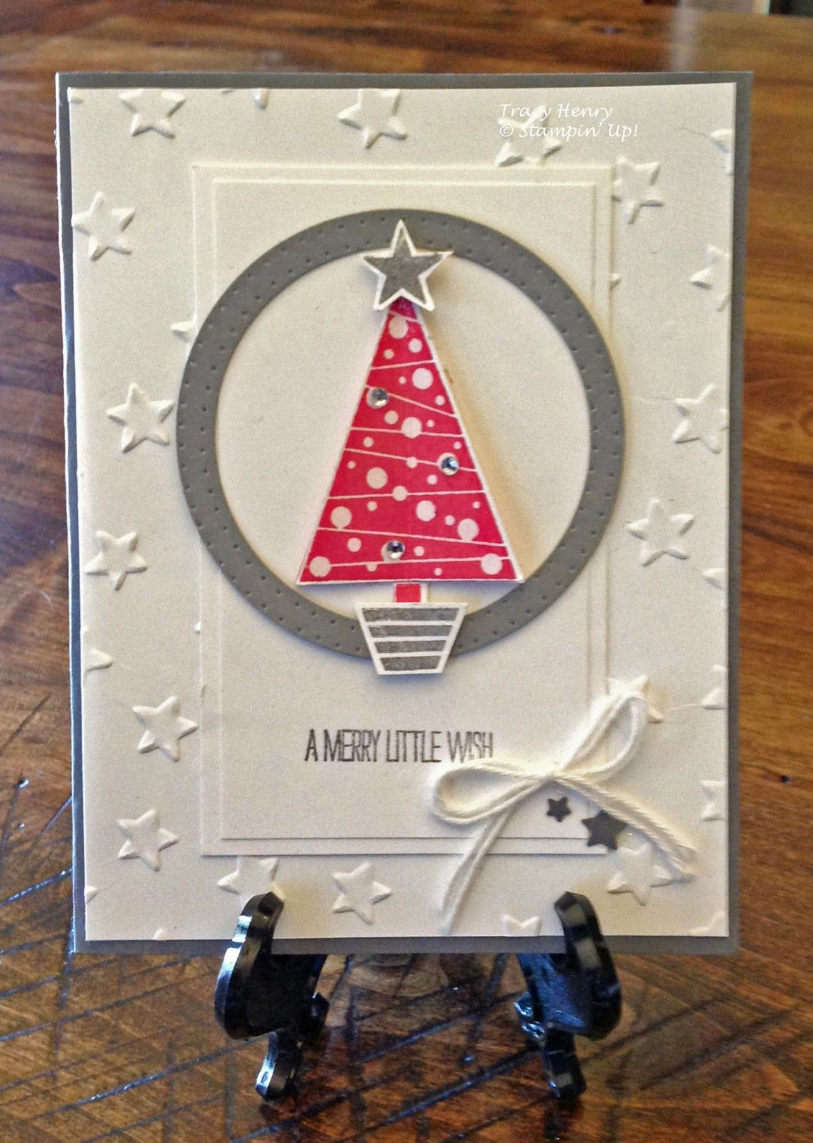 Stars Christmas - Stampin' Up! Festival of Trees stamp set
