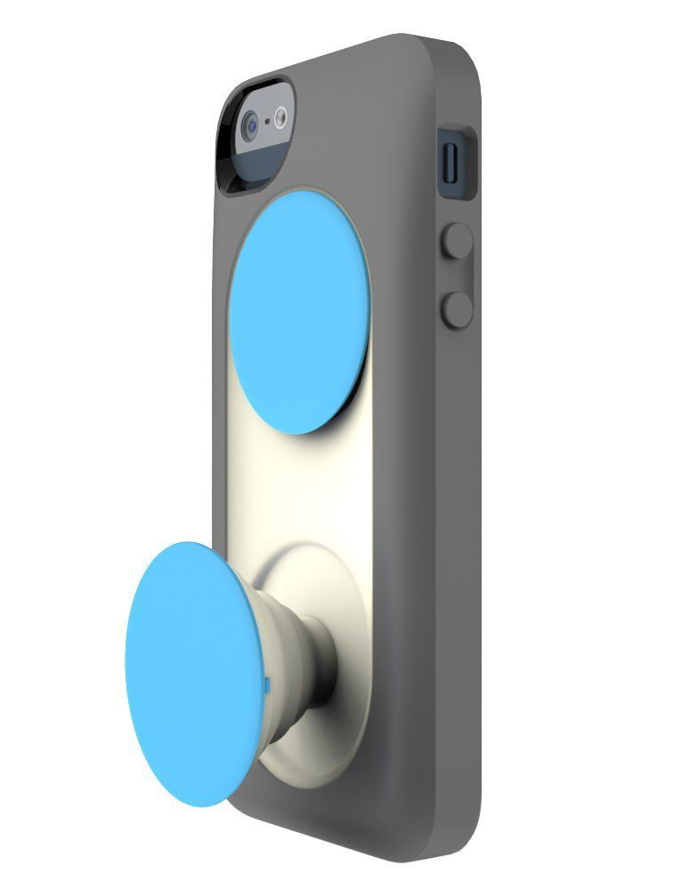 sale retailer 09688 038c2 PopSockets Case for iPhone 5/5S with Expanding Grips, Stands, and ...