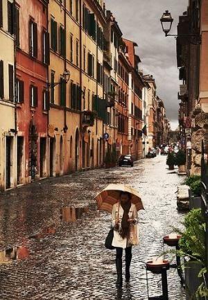 db1652e02 Rome, Italy by DeeDeeBean | Umbrellas; rain, sun, snow…. | Rome at ...
