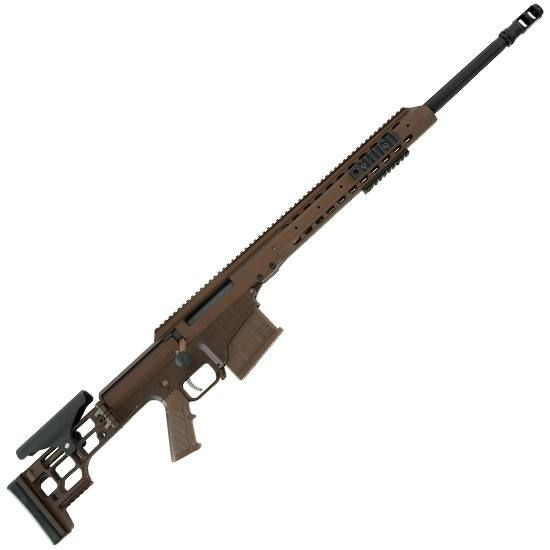Barrett Firearms MRAD Bolt Action Rifle .308 Winchester 17 Heavy Barrel 10 Rounds Folding Stock Cerakote Multi-Role Brown