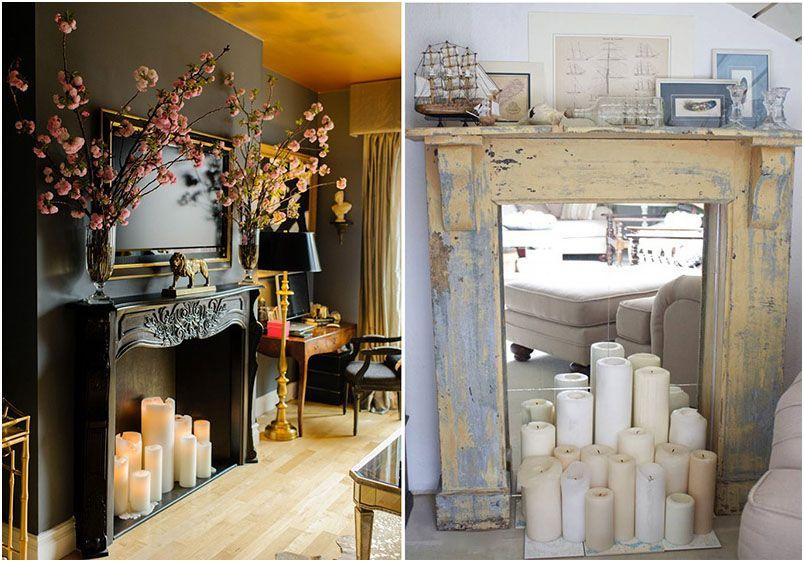Greatest Ideas Of Fake Fireplace Decoration