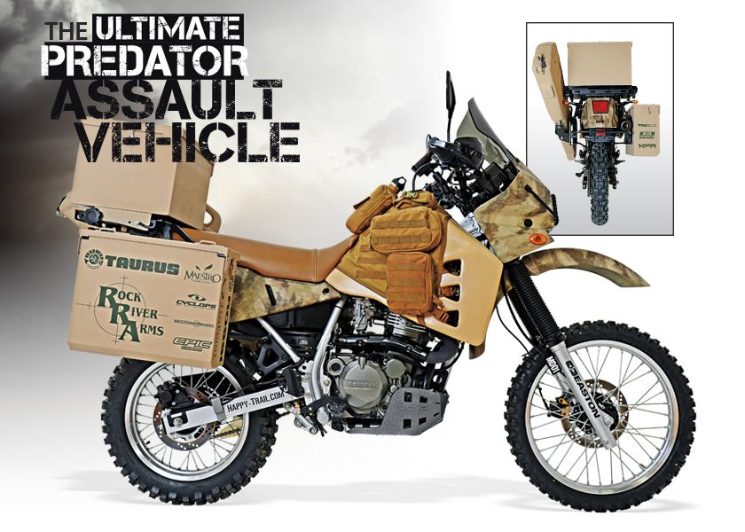 Looking To Put The Hurt On Some Predators This Year Check Out Custom Motorcycle AdventureMotorcycle CampingMotorcycle VestDual Sport Motorcycles Bmw