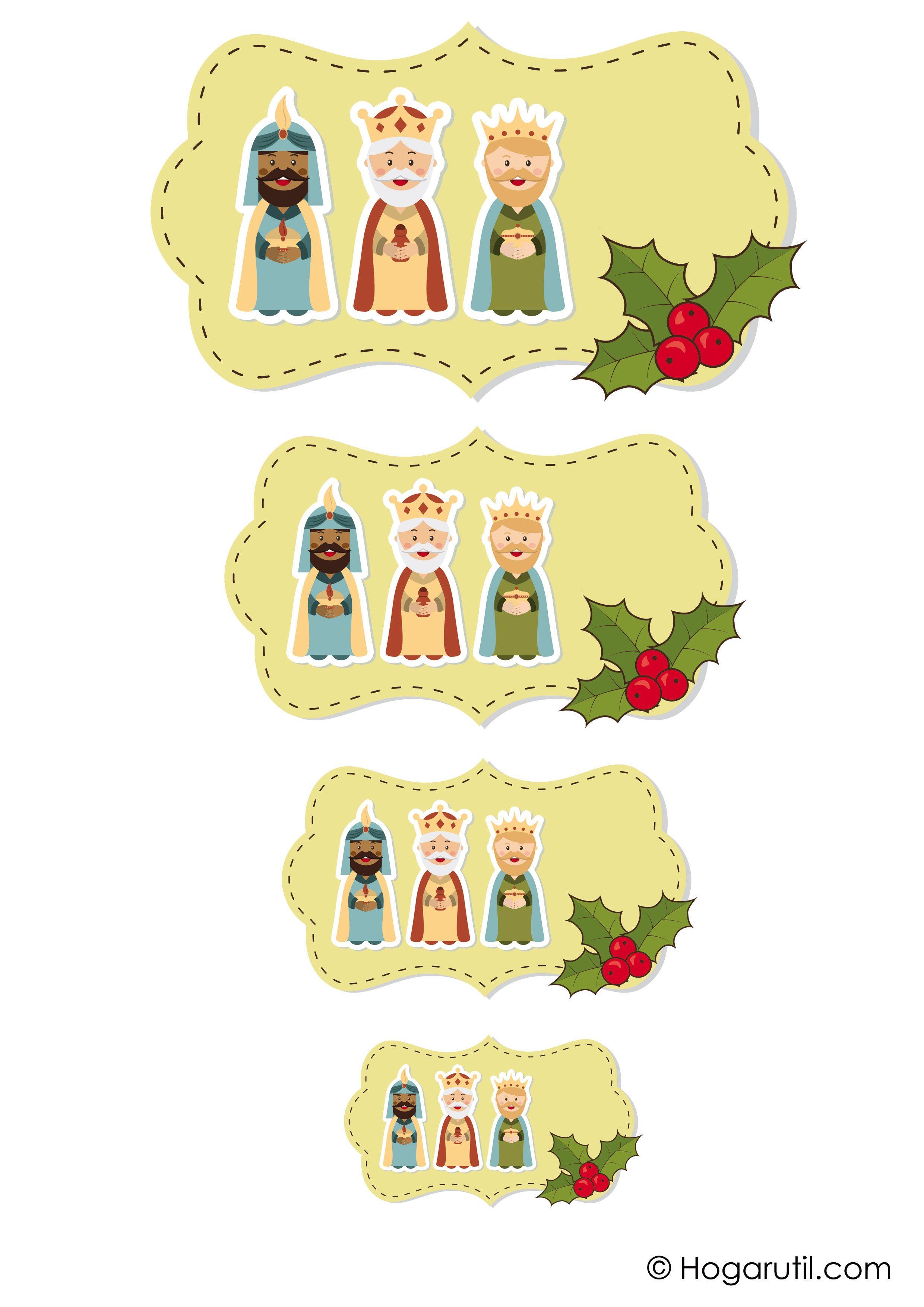 Pin de diana fernandez en etiquetas navidad imprimibles - Ideas de regalos para reyes ...