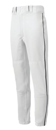 7047c6031c8 Mizuno Youth Baseball Apparel - Youth Premier Piped Baseball Pant - 350149